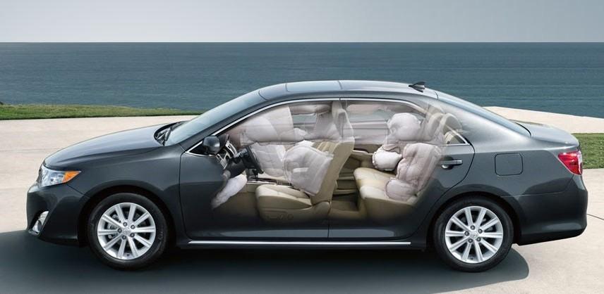 безопасность Toyota Camry